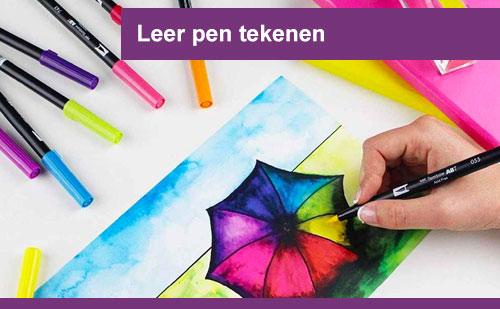 interplein-cursussen-Leer-pen-tekenen